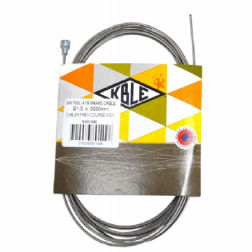 Cable de frein inox TANDEM ROUTE TRANSFIL